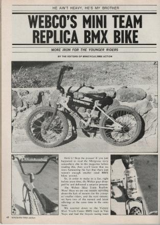 1977 Minicycle BMX Action - Webco Mini Replica - 01.jpg