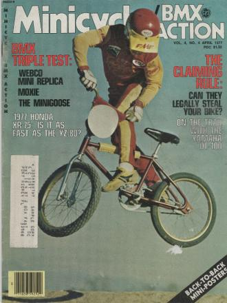 1977 Minicycle BMX Action - Webco Mini Replica - cover.jpg