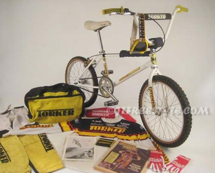 1984 Tommy Brackens Torker Pro-X complete bike and other Torker items JTFreestyle.jpg