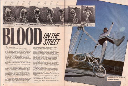 Fred Blood Trick Page Blood on the Street Freestylin' Mar 86.PNG
